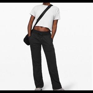 Lululemon black Dance studio lll pants unlined